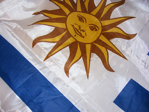 uruguay flagge